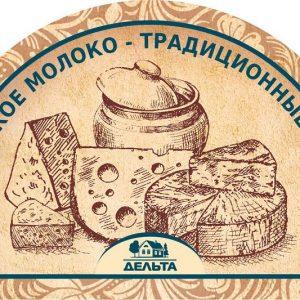 Delta_сыр лого